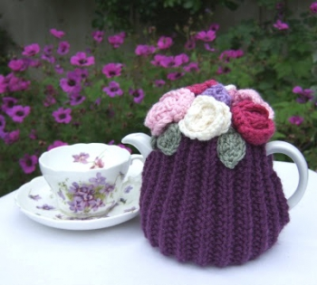 Violet cup and Tea cosy.JPG